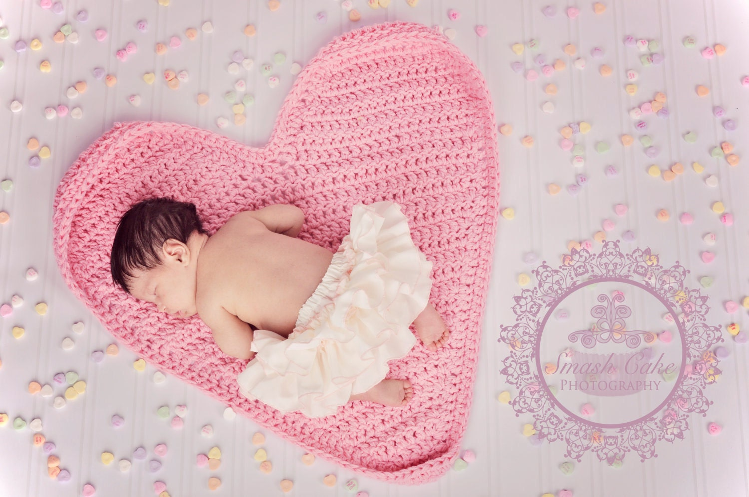 Heart Mat or blanket (made to order)