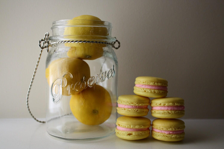 Pink Lemonade French Macaron