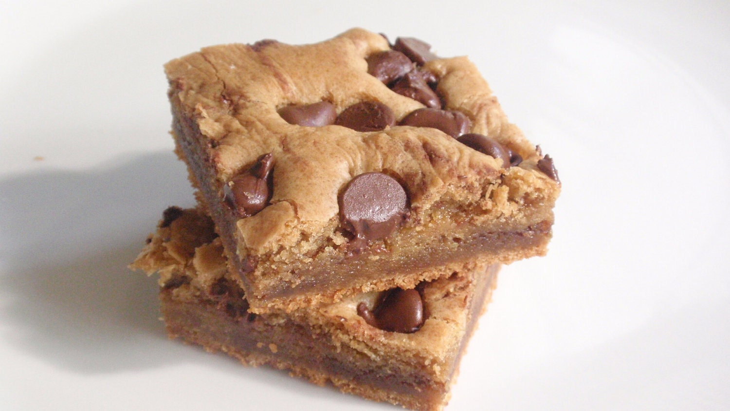 Peanut Butter  Blondies by BakeAllTheThings