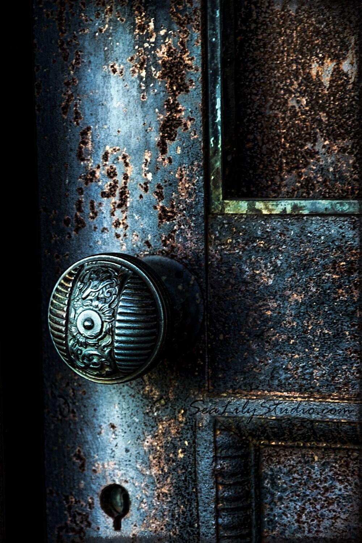 Secret Door - 8x12 Fine Art Print - SeaLilyStudio