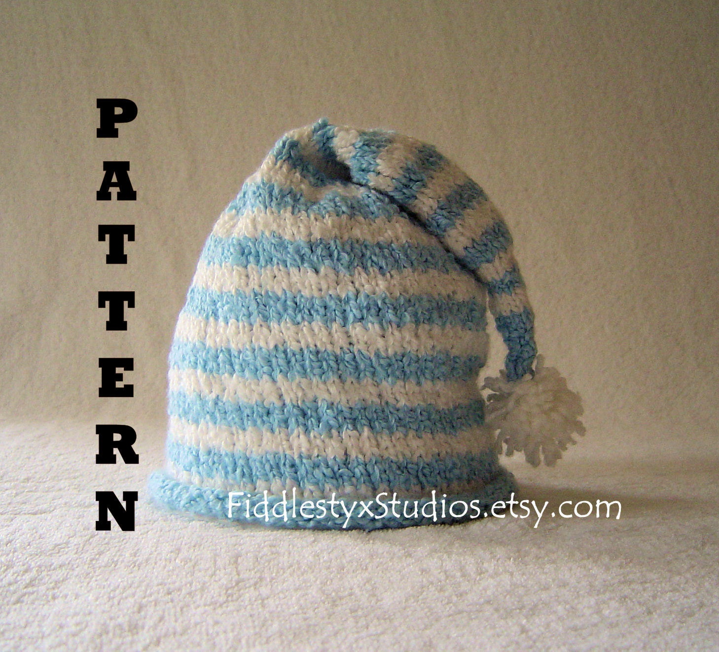Knitted stocking cap pattern patterns gallery stocking cap free knitting pattern sz s m l bankloansurffo Choice Image
