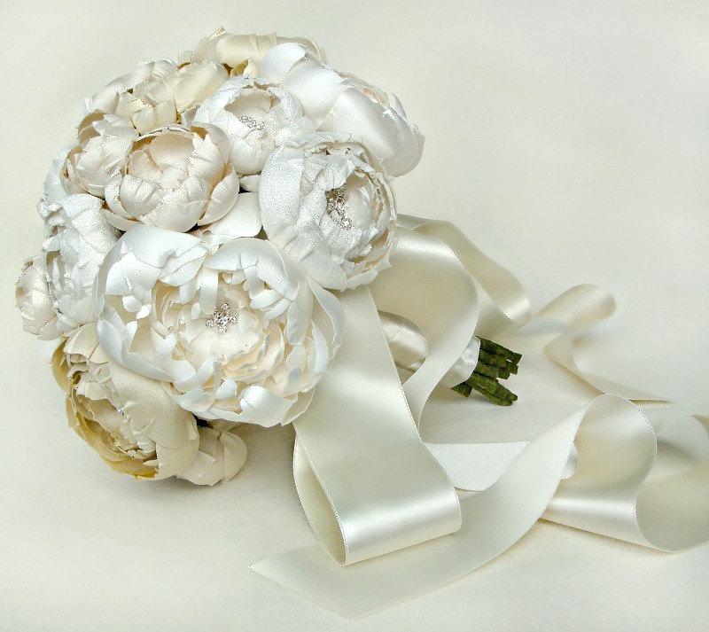 Искусственный букет своими руками из искусственных цветов