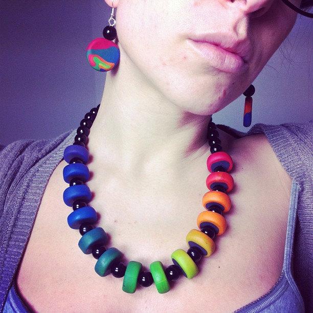 Rainbow Collana - MariposaCrea