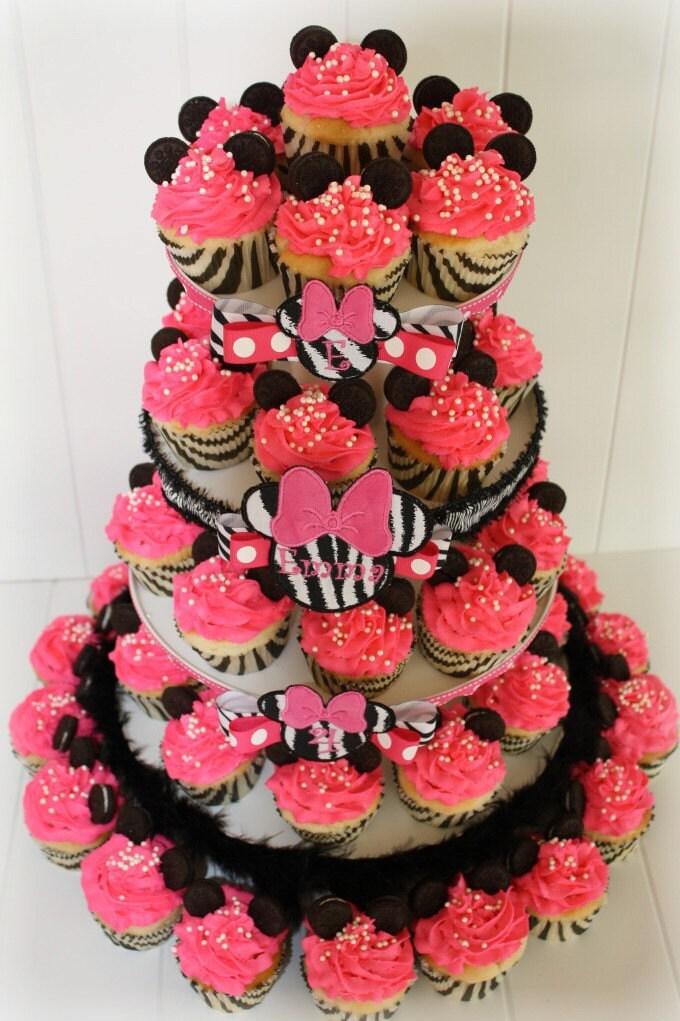 how to make duff zebra cupcakes