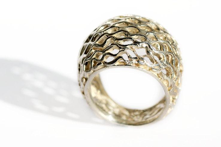 bee ring honey jewelry designgift for by cadijewelry
