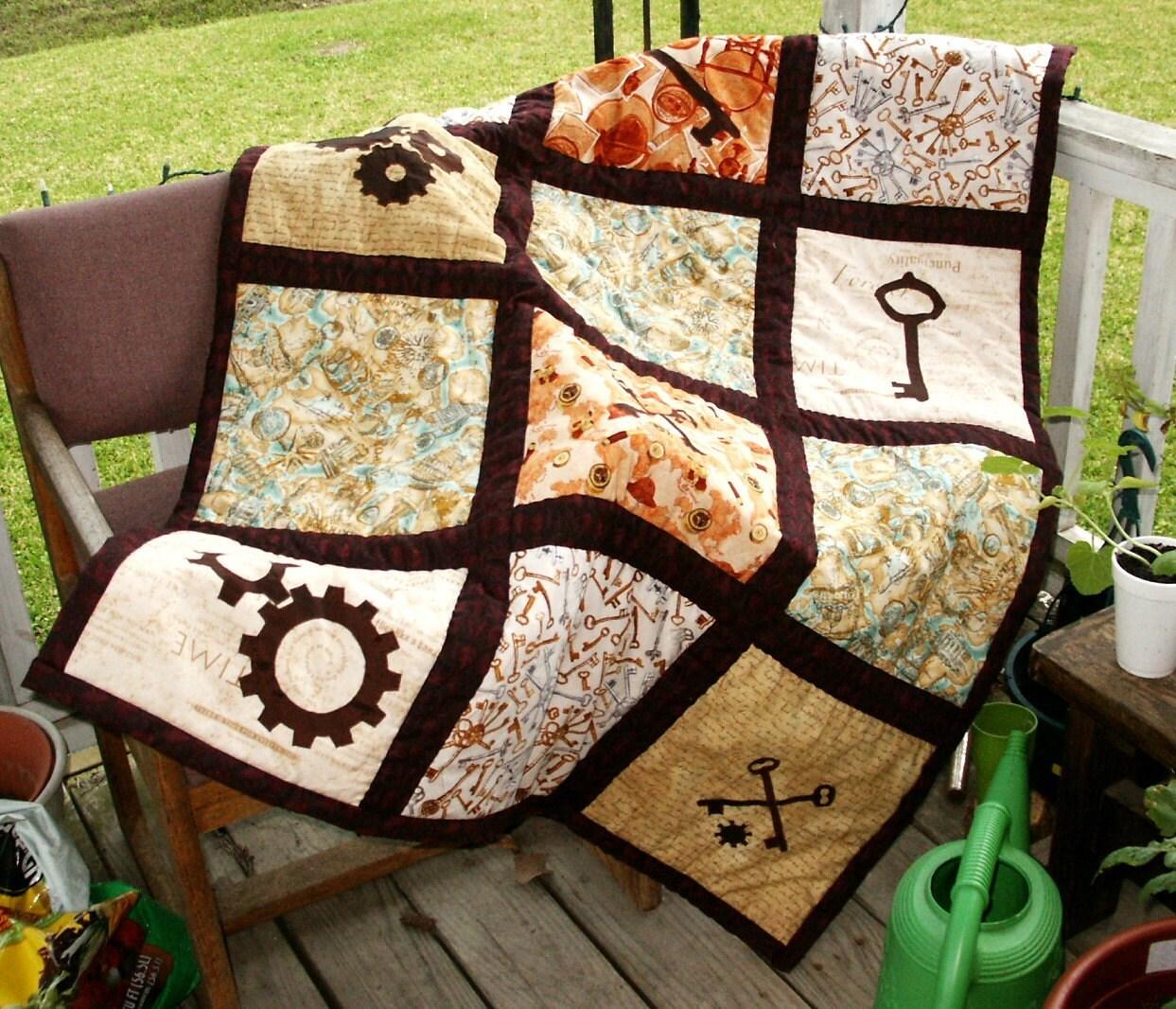 Erika's Chiquis: Steampunk Quilts : steampunk quilt tutorial - Adamdwight.com