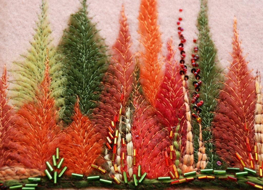 Осенний лес ноутбука - журнал