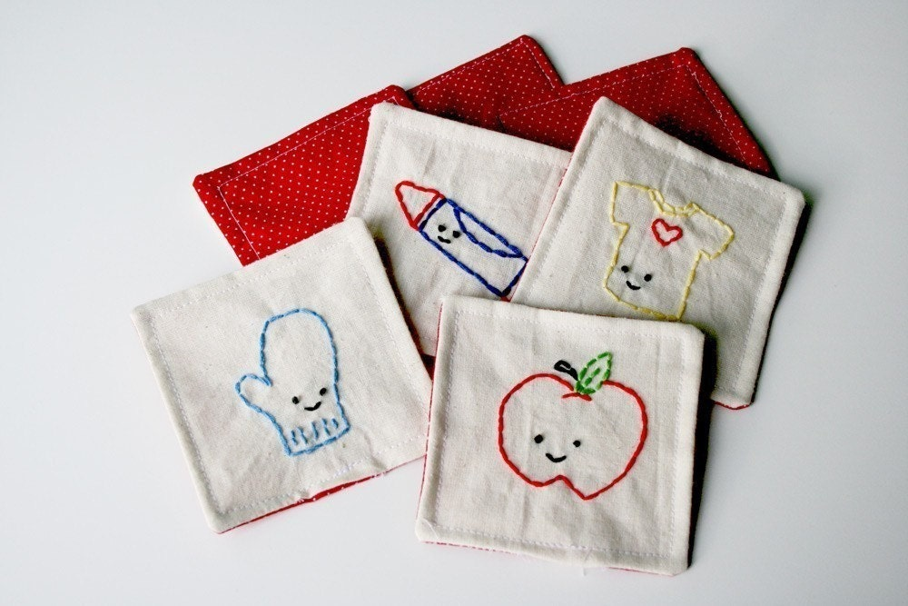 Make A Memory - Educational Game Embroidery Pattern and Sewing Instructions