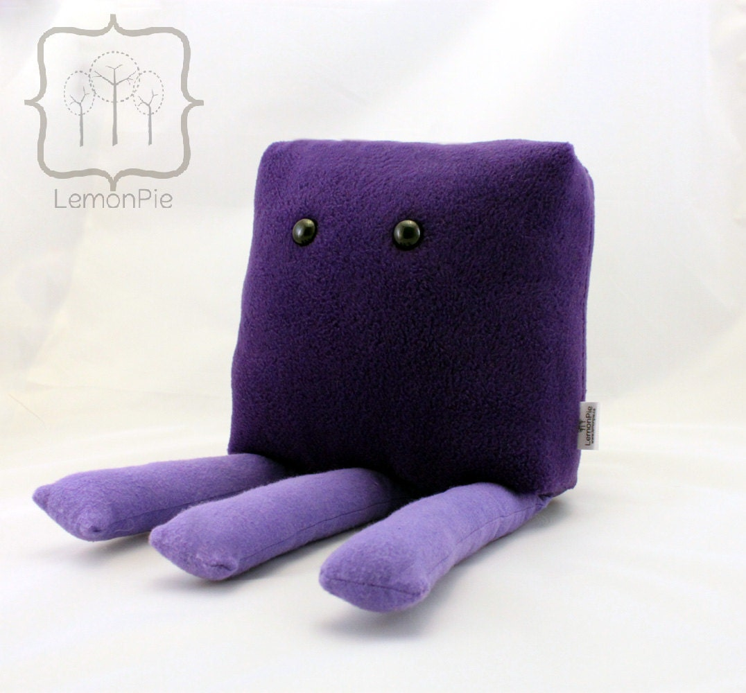 BIG Miss Octopie the Monster Pillow