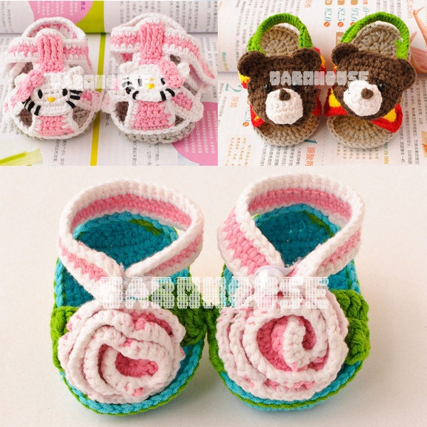3 baby sandals ------ 10 USD for each