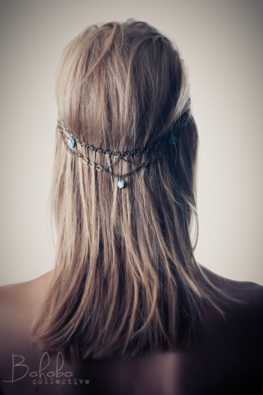 PINNACLE Head Chain  Hair Clip