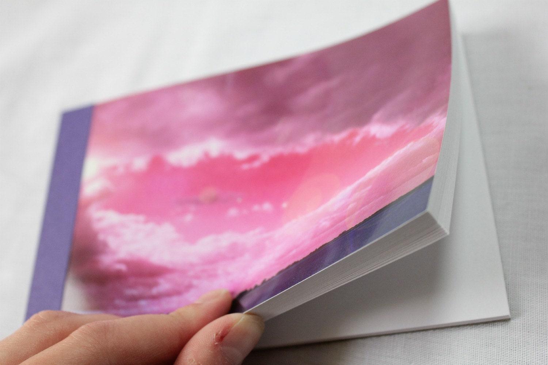 Notebook/Sketchbook/Journal - 4x6 - Eye of the Storm - Original Photograph - MiniHaus