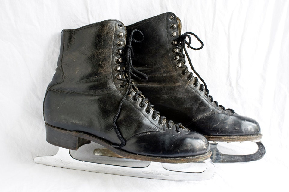 Vintage Betty Lytle By Hyde Ice Skates 1950s - foundhere