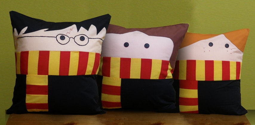 Trio of Wizard Pillows