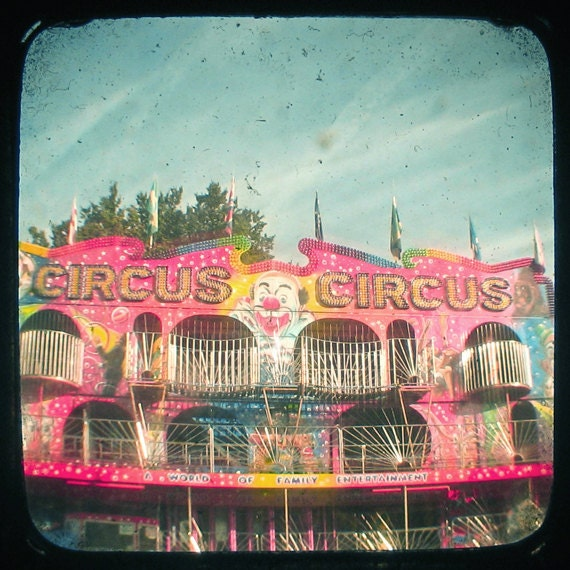 "Circus 8 x 8"" Print"