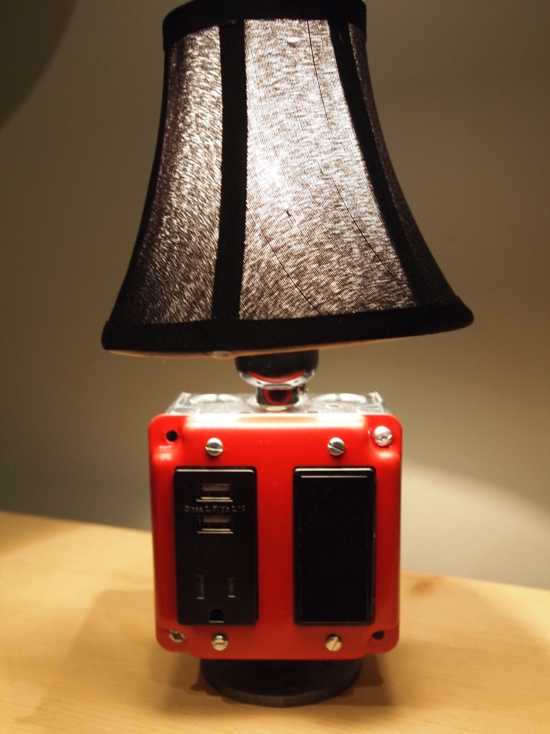 Table Or Desk Lamp Amp USB Charging Station Iphone