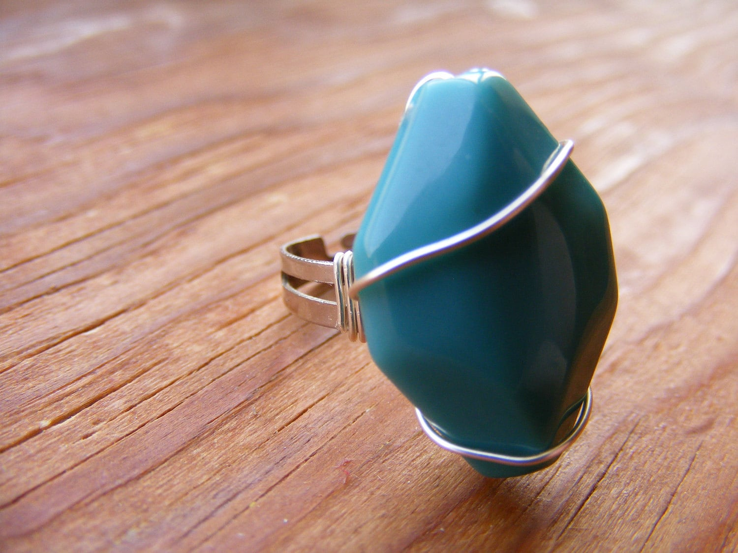 Ring Turquoise and Silver