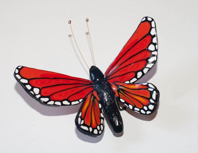 OOAK - Butterfly animal totem