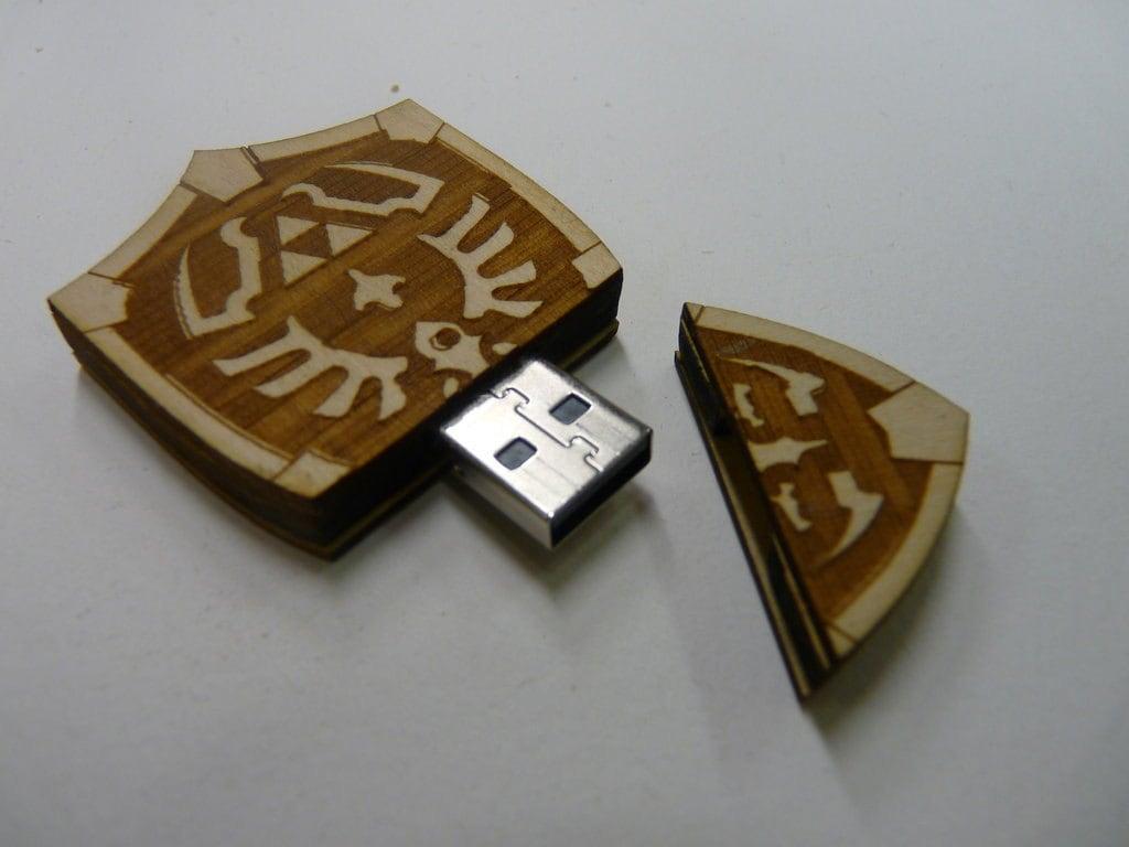 8GB Hyrule Shield USB from The Legend of Zelda