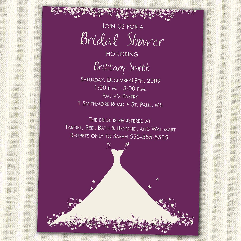 Bridal Shower Invitations Bridal Shower Invitations Online Canada