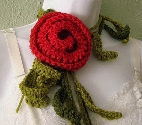 Crochet Pattern Scarfs