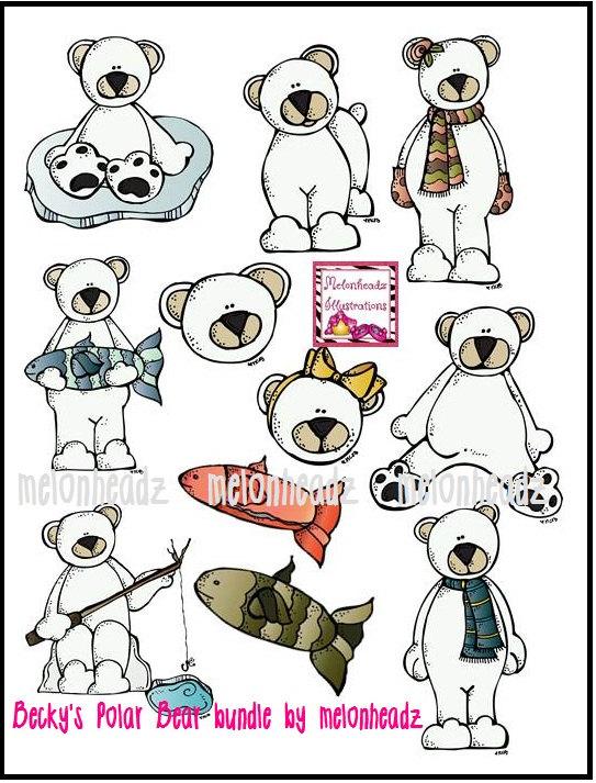 Becky's polar bear bundle