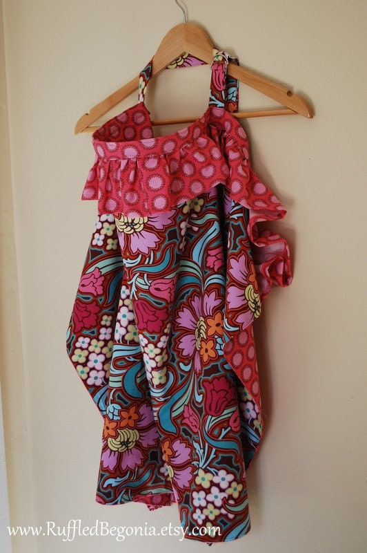 The Original Ruffled Breastfeeding Apron Nursing Cover up PDF Sewing PATTERN