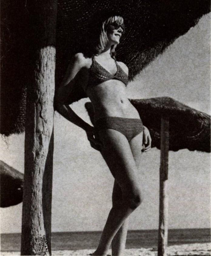 Crochet Bikini Pattern PDF 077 Vintage Lace Bikini from WonkyZebra