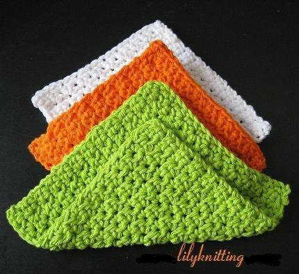 Free Online Crochet Dishcloth Patterns : Service Temporarily Unavailable