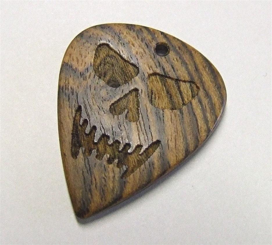 Bocote Guitar Wood Custom Wood Guitar Pick