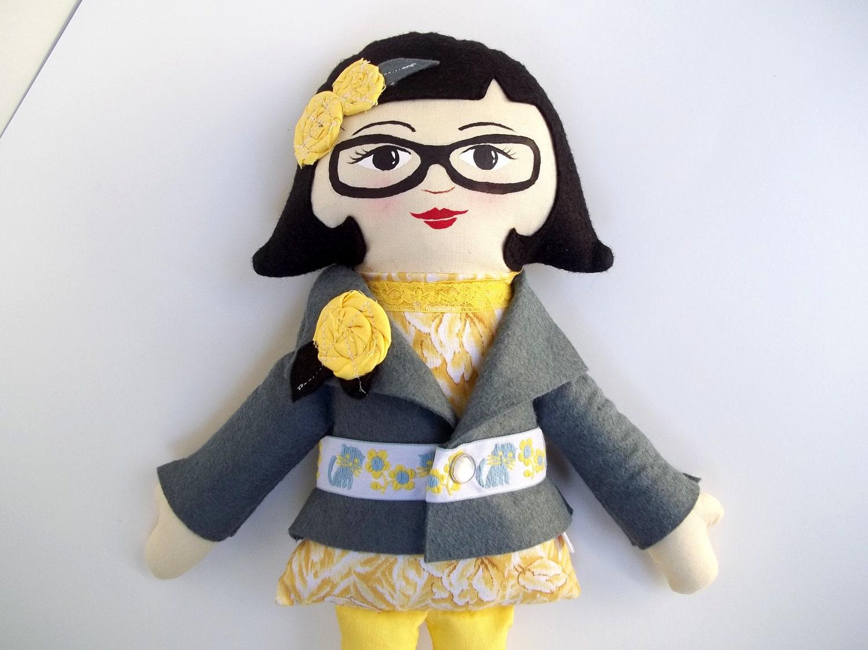 Handmade Cloth Doll, Heirloom