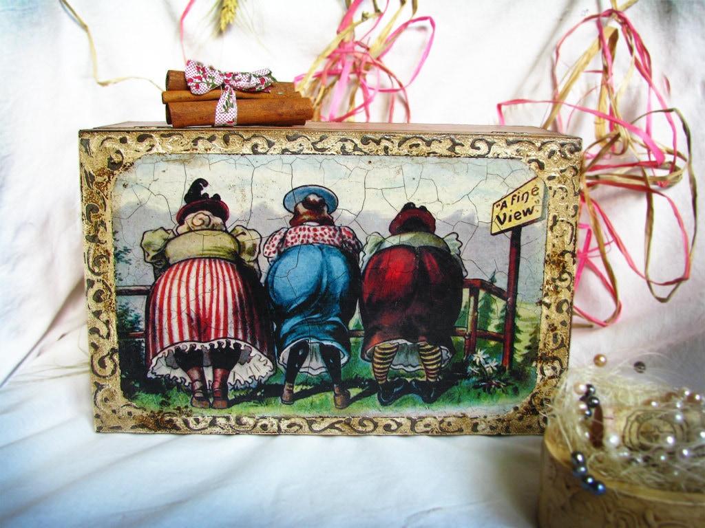 Декоративные деревенском поле для пакетики или ювелирные изделия изобразительного доставки Просмотр по всему миру