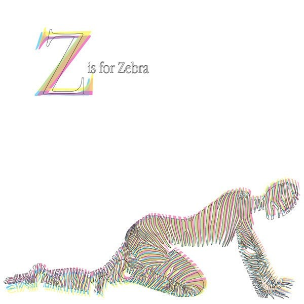 Z is for Zebra - Limited Edition Print - Katlix