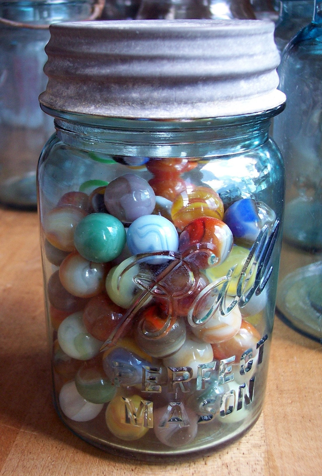 Jar Of Marbles Story : Marbles on pinterest
