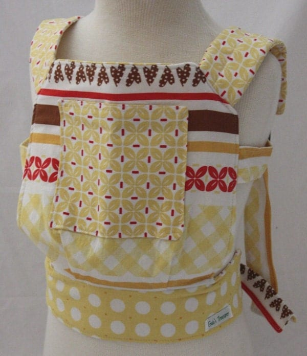 Child Doll Carrier- Riley Blake Sew Cherry Collection