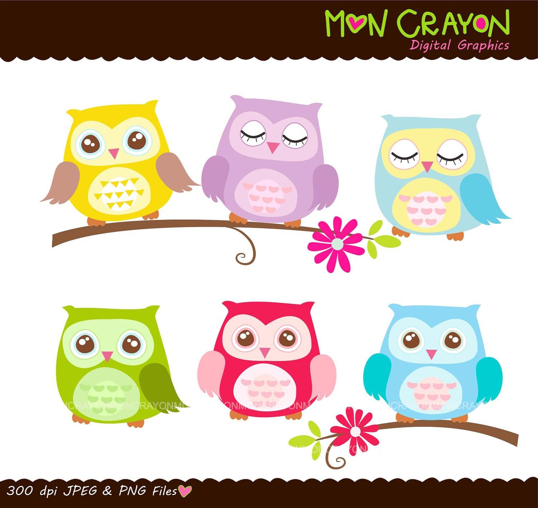 Birthday Owl Clipart