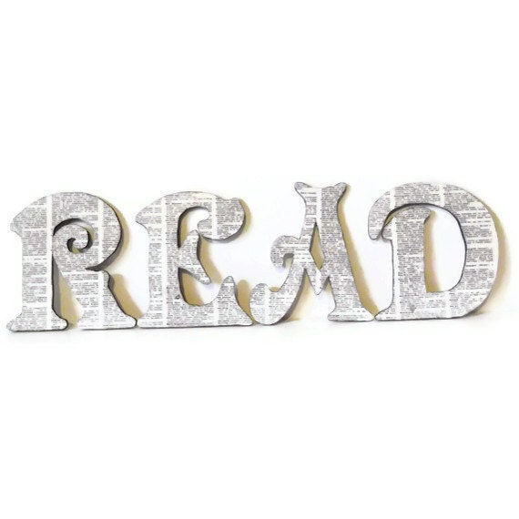 READ Wall Letters