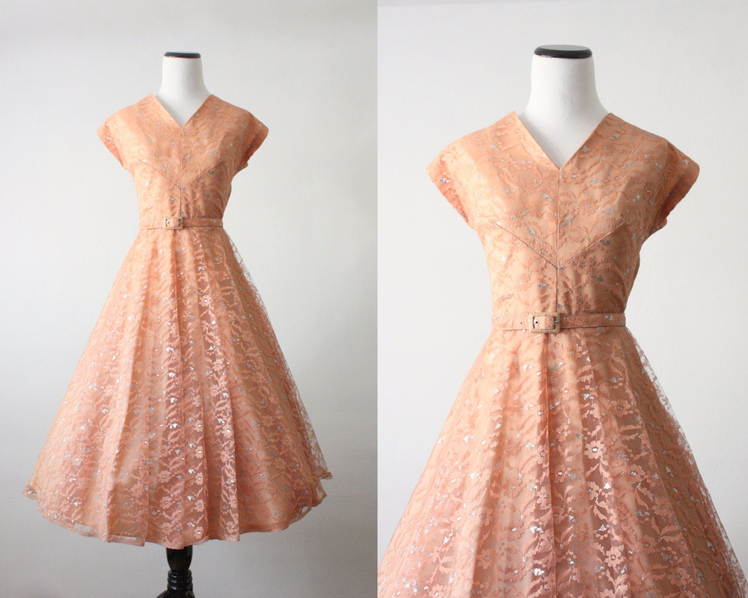 50s dress - clementine shimmer party dress