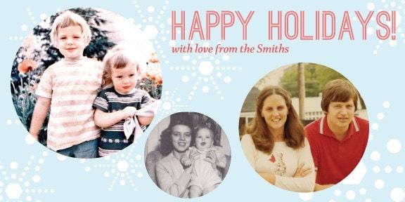 Printable holiday card
