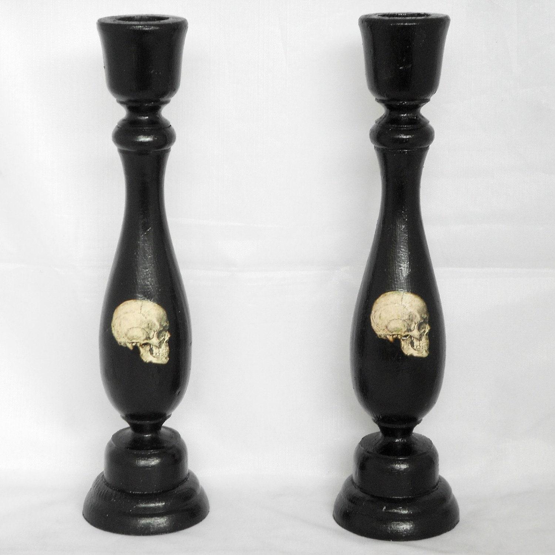 Aa Candle Candlesticks Skulls Decorations Skulls
