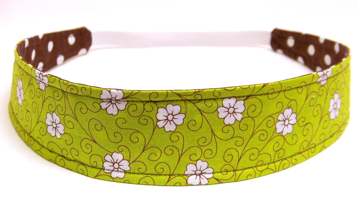 NEW  -  Reversible Fabric Headband   -  ARIANNA  -  Headbands for Women