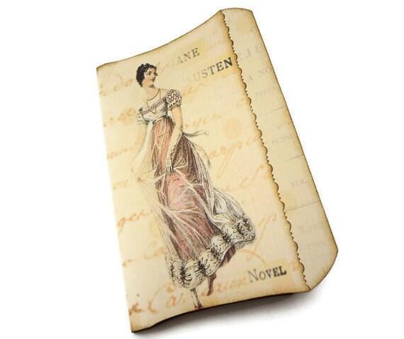 Джейн Остен Журнал ручной работы Art Journal, Джейн Остин Весна Journal, Regency моды журнала, Гордость и предубеждение журнал