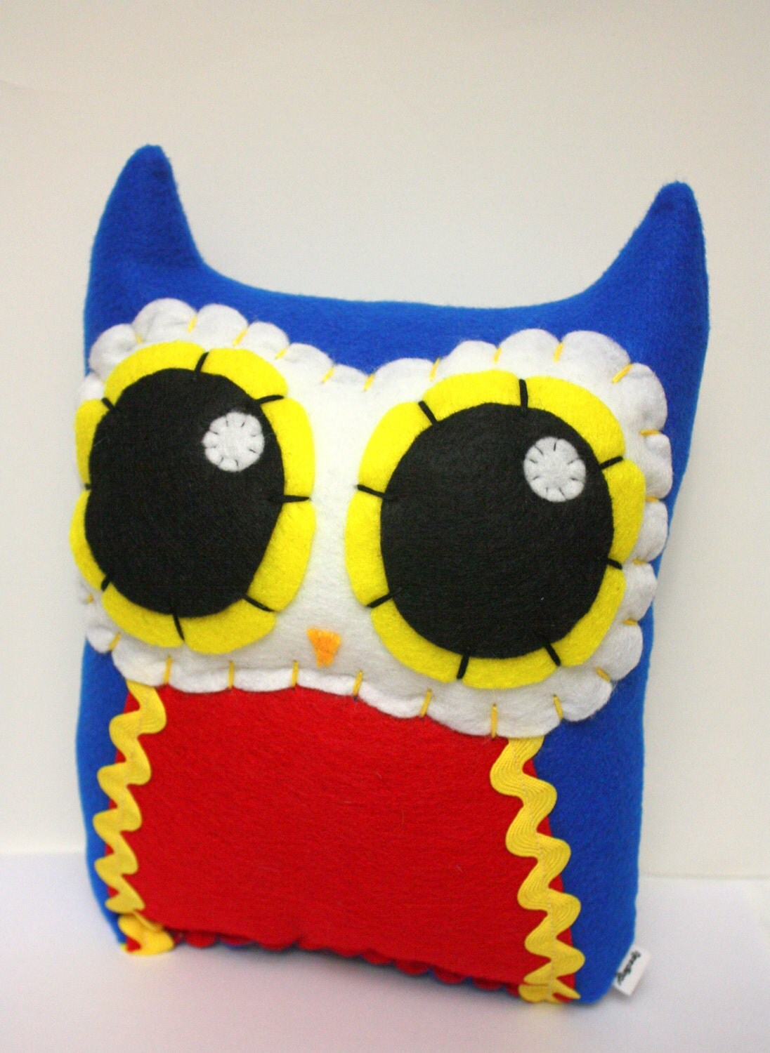Owl Mama - Eco-friendly Felt Plush Owl - Needlings