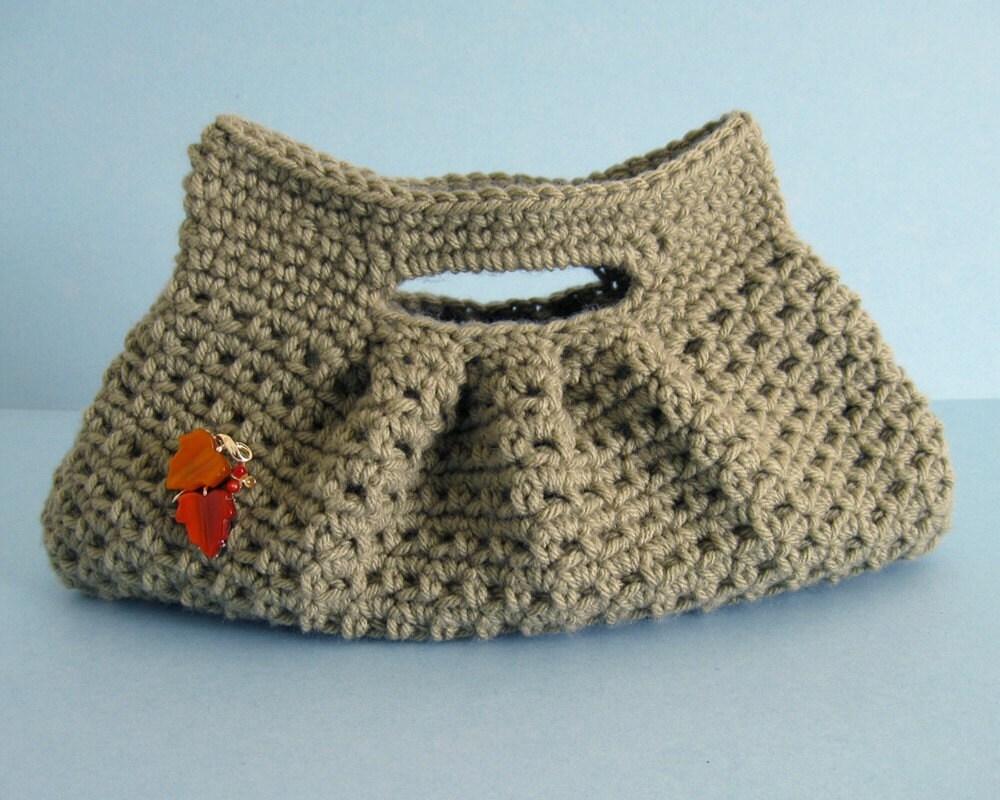 Mary Anns Crochet : pretty little pleats crochet bag