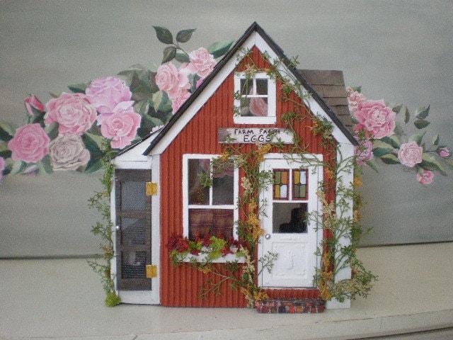 ����������� ����� Saltbox ��� � �������� Custom Dollhouse