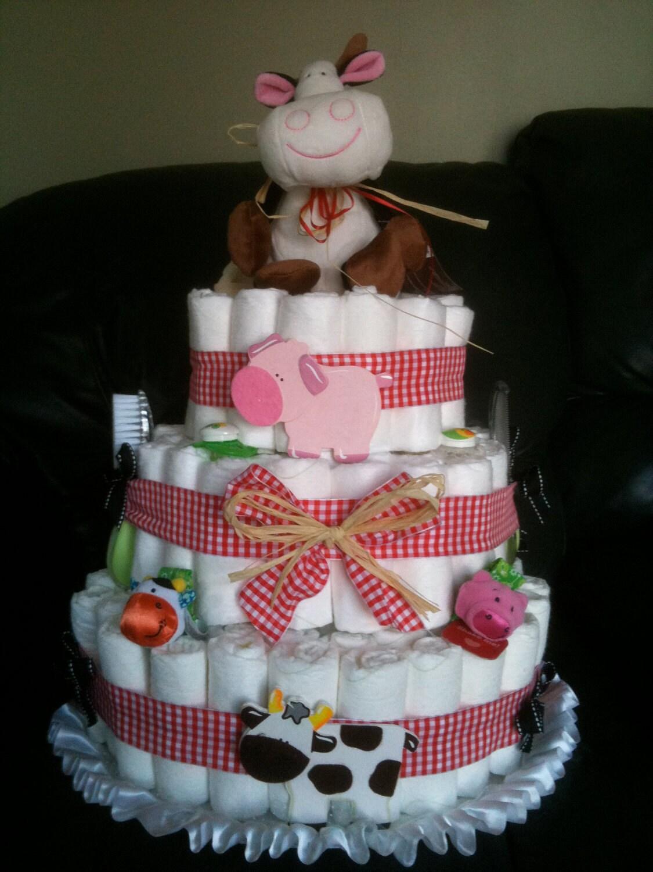 Cusotm Diaper Cakes