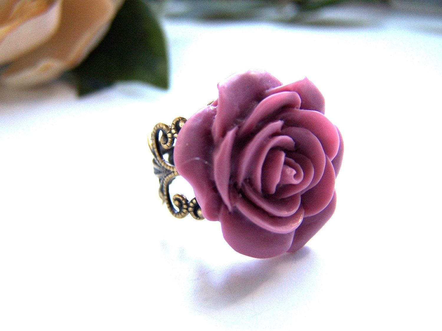 the lavender barbara ring.