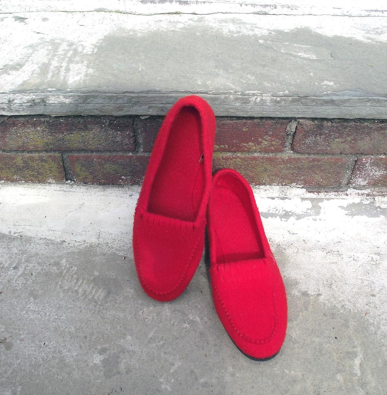 Daniel Green Vintage 60s 70s Slippers. Footwear.  Approx Sz 7.5 - judygovintage