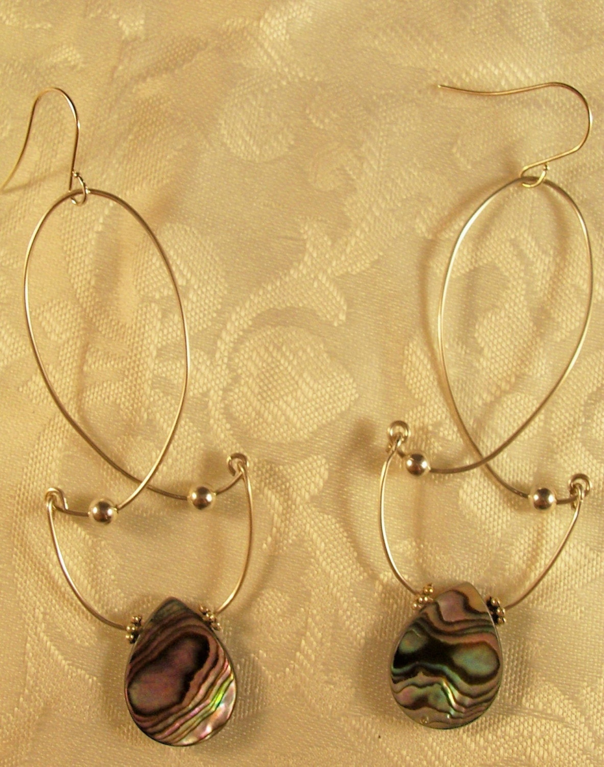 Dancing Paua Shells - Earrings