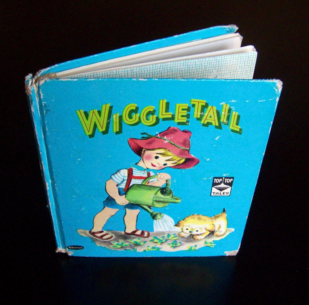 Vintage Children's Book - Wiggletail - 1960s - MoonkittensTimeline
